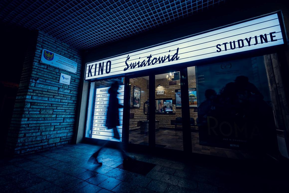wejście do kino swiatowid katowice