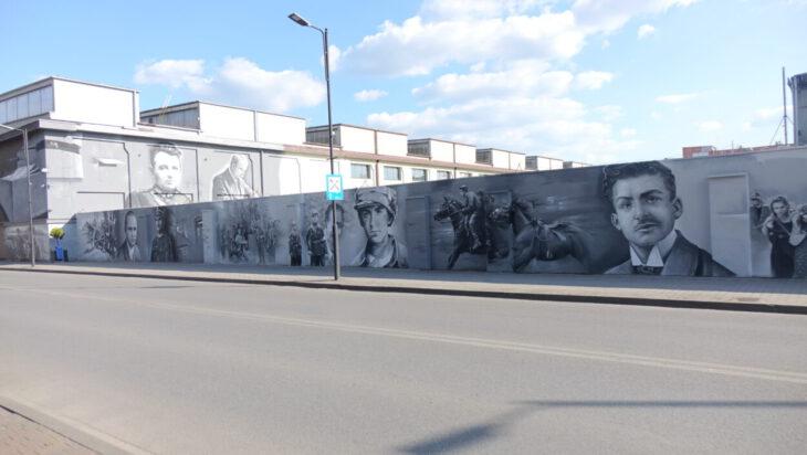 1. Mural część północna