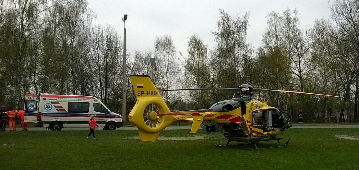 Helikopter i karetka