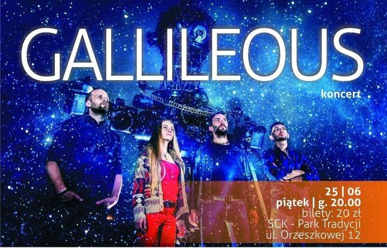 koncert zespołu Gallileous w sck tradycji
