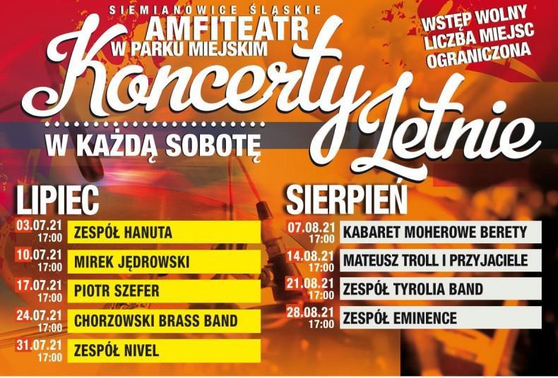 koncerty amfiteatr siemianowice