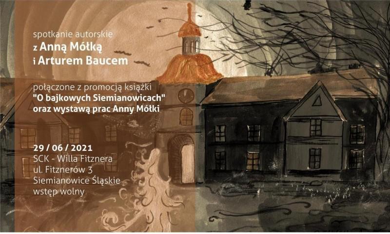 obraz Radosława Matyska przedstawiający siemianowicki pałac