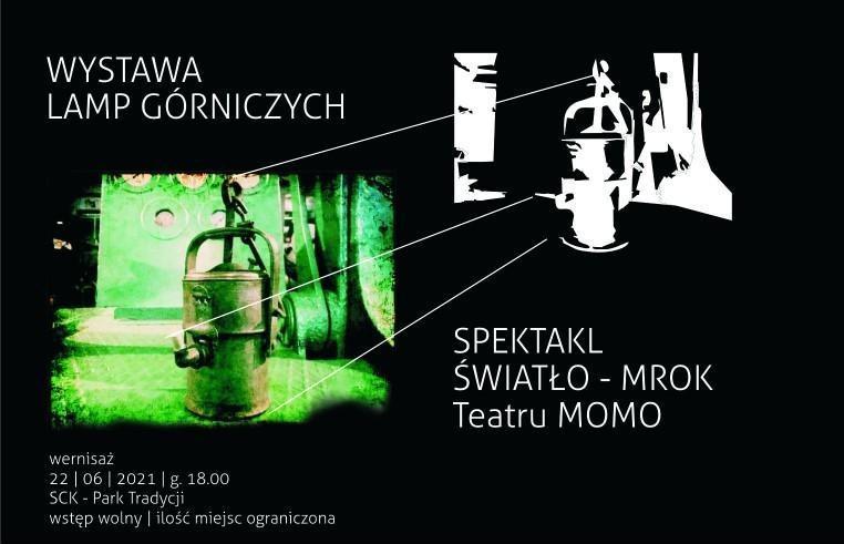 wystawa lamp górniczych w parku tradycji w siemianowicach śląskich