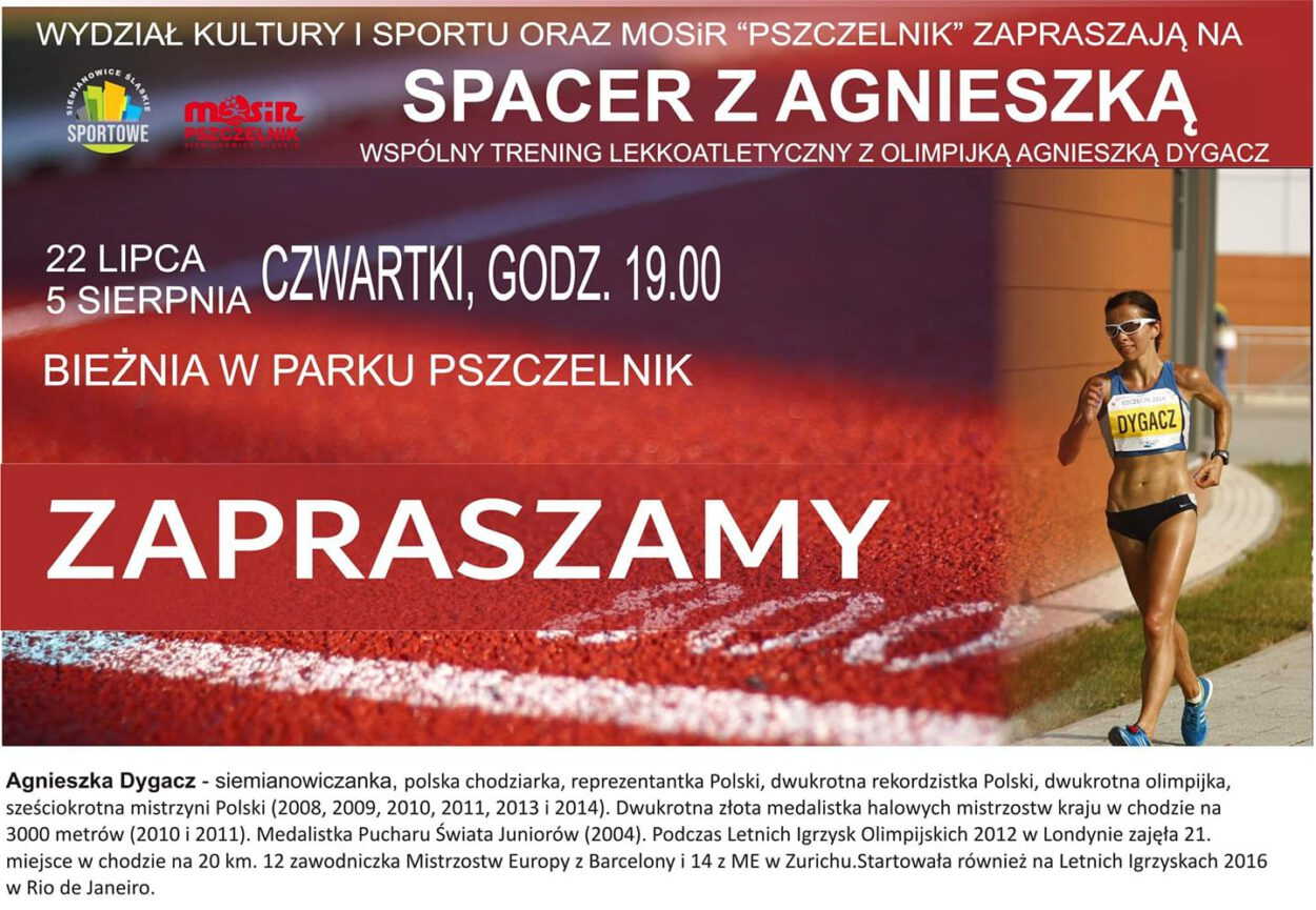 Spacer z Agnieszka Dygacz mosir pszczelnik siemianowice