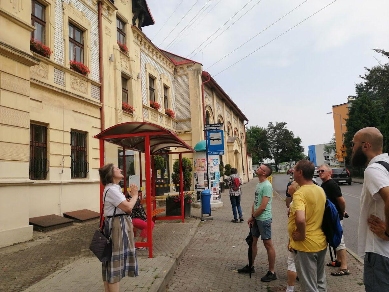 Podczas spaceru po Bytkowie Siemianowickie Centrum Kultury mieszczące się w dawnym gasthausie wzbudziło spore zainteresowanie.