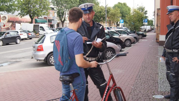 Rowerzystów też obowiązuje kodeks drogowy [Siemianowice]
