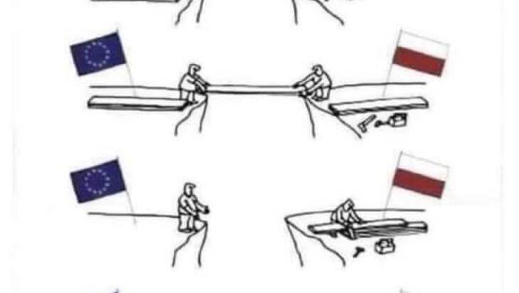 Unia to jedność, Polski dom nie jest z kraja