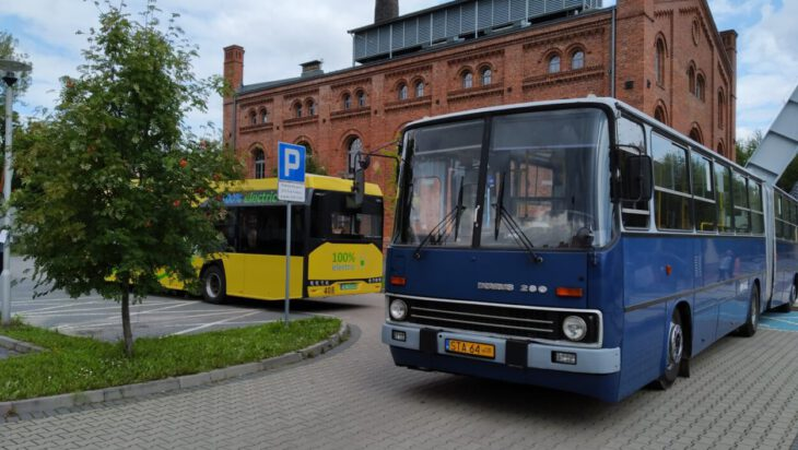 Autobusowy piknik w Parku Tradycji, Siemianowice Śl.