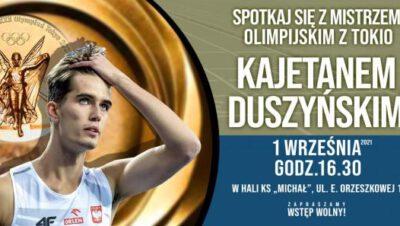 Spotkanie z mistrzem – Kajetan Duszyński