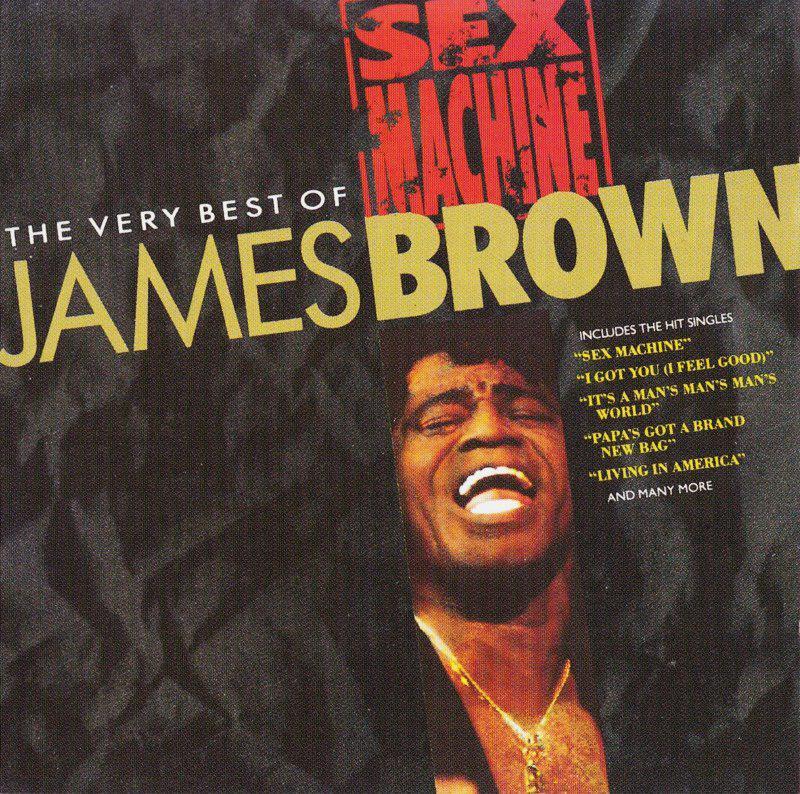 james brown sex machine okładka płyty