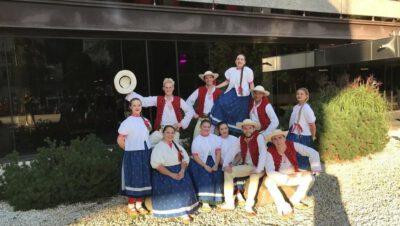 Zespół Pieśni i Tańca Siemianowice wrócił z festiwalu folkloru w Czechach