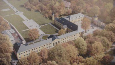 Rodzinny piknik w pałacu Donnersmarcków z Laurą i Hugonem [Siemianowice, 25 września]