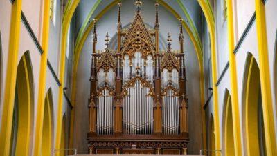 Koncert organowy [Niedziela 26 września – kościół pw. Krzyża Świętego]
