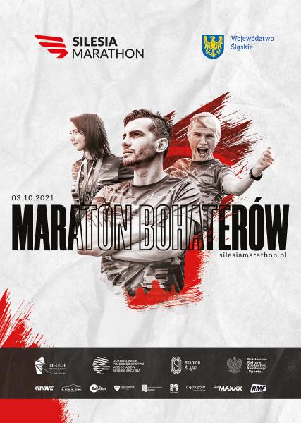 plakat silesia marathon 2021