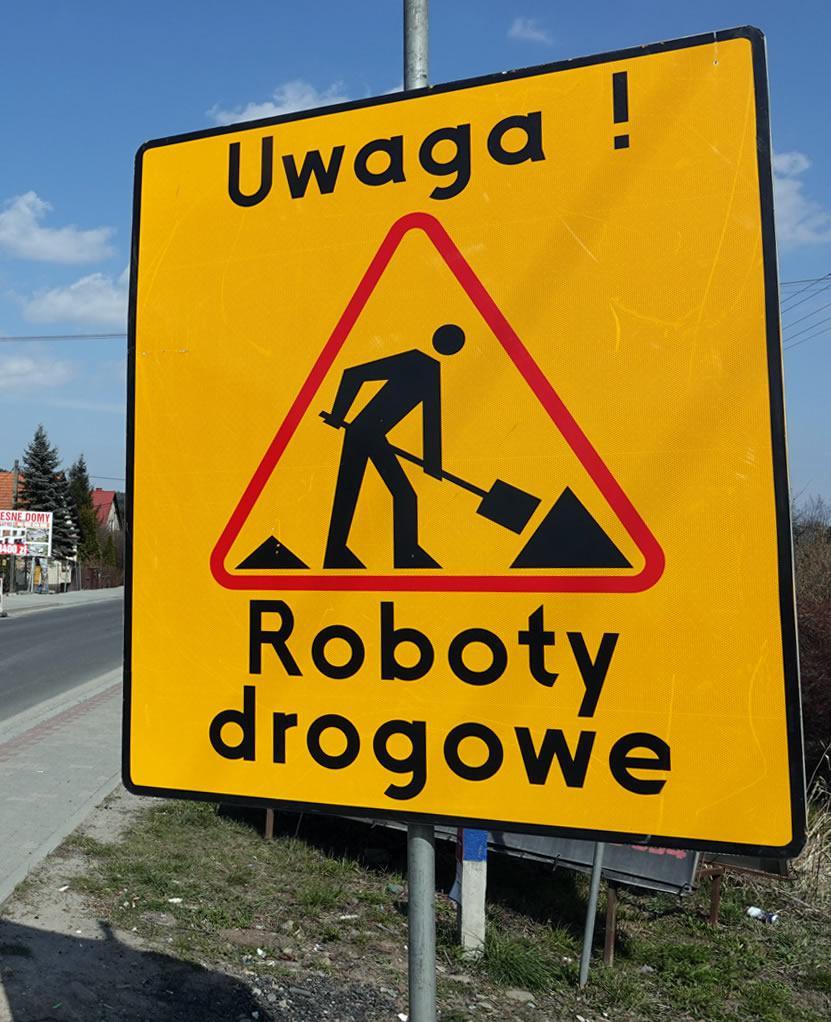 remont ulicy bańgowskiej w siemianowicach 1600m