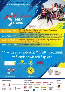 siemianowice śląskie narodowy dzień sportu