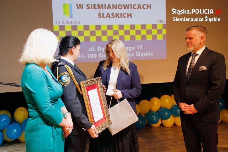 Angelika Wojciechowska, komendant straży miejskiej siemianowice śląskie