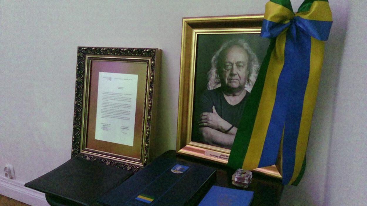 Uchwała i insygnia tytułu Honorowego Obywatela Siemianowic Śląskich