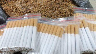 Policjanci przejęli tytoń i papierosy bez akcyzy
