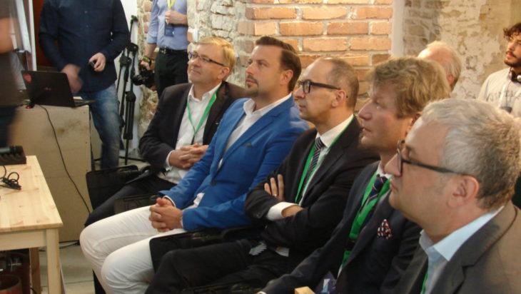 VIP-owie podczas seminarium