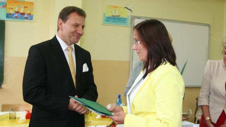 Jacek Guzy z kobietą