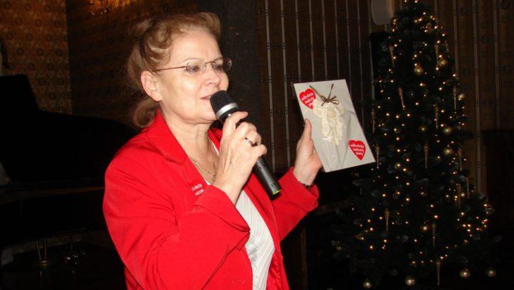 Licytacje prowadziła Małgorzata Groniewska