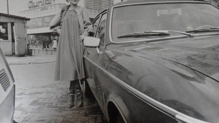 Zdjęcia modelki z czasów PRL