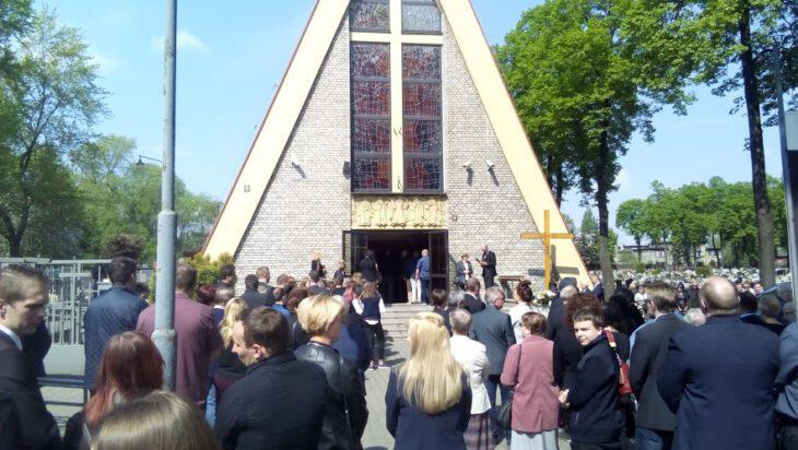 Pogrzeb Krystiana Hadasza