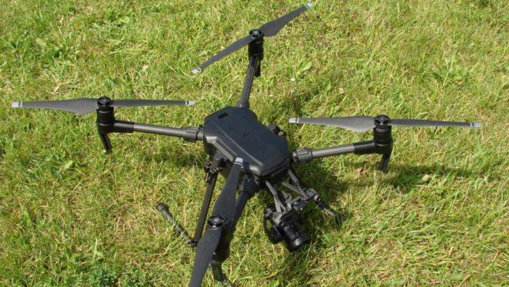 Wspomagający poszukiwanie dron.