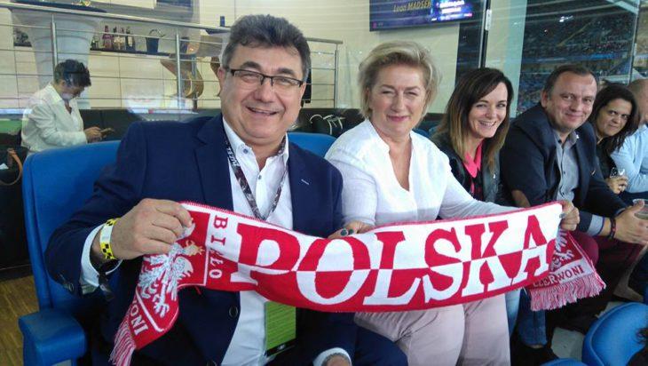 Danuta Sobczyk kibicuje żużlowcom. Sama kandyduje do Rady Miasta z nr 1 w Michałkowicach