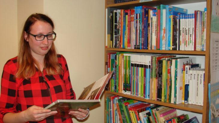 Biblioteka szkolna liczy 3 tysiące książek