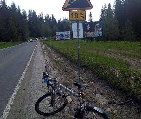 6. W Tatrach ambitni rowerzyści znajdą coś dla siebie