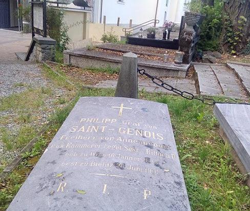 Groby założycieli kurortu Jaworze