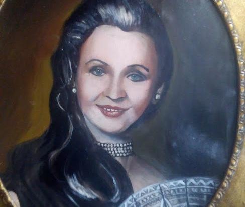Portret damy.