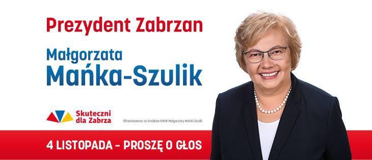 Zabrze, Małgorzata Mańka-Szulik