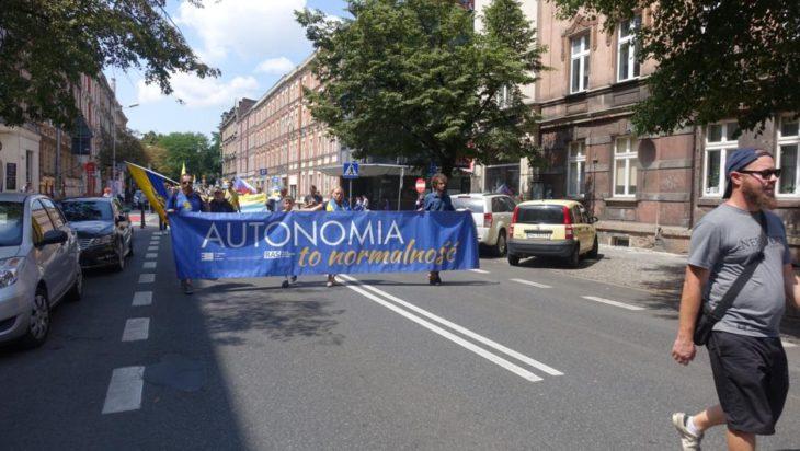 14 lipca 2018, marsz RAŚ, Ruch Autonomii Śląska