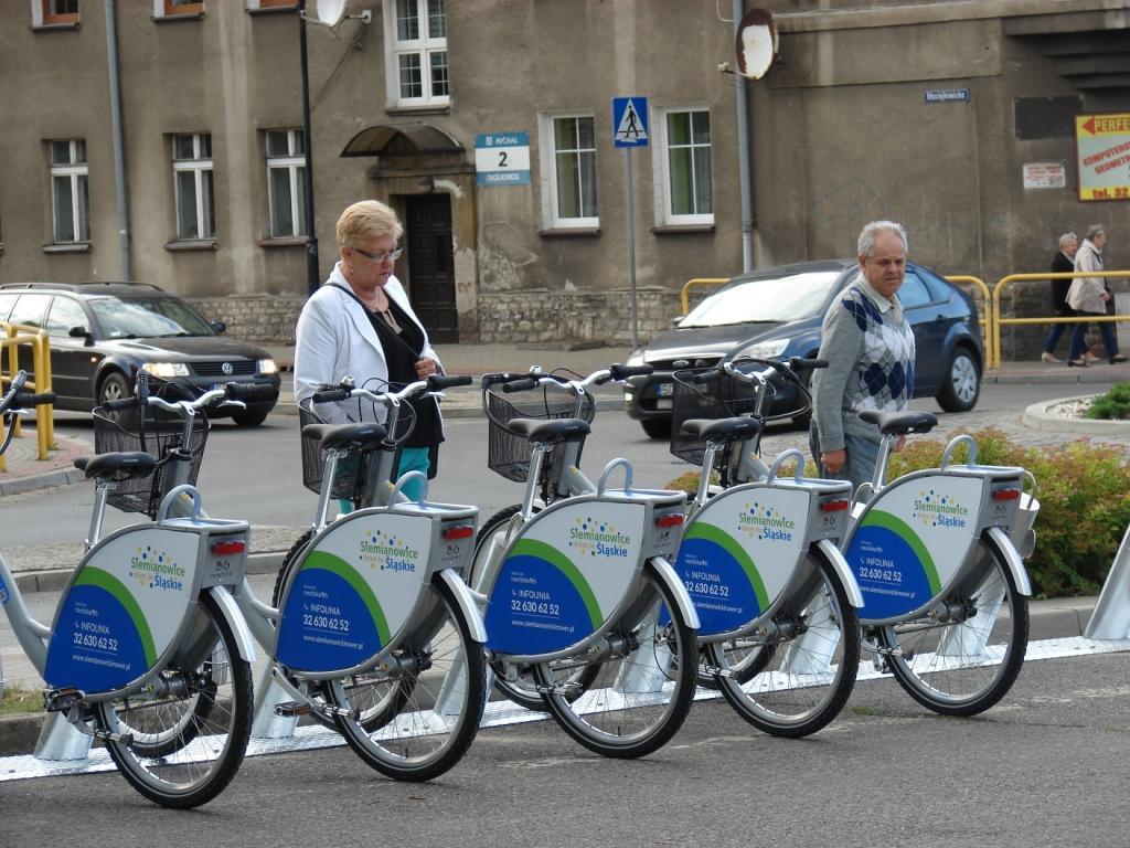 Stacja nr 1 Rent Bike w Michałkowicach