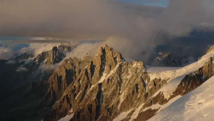 Droga na Mont Blanc