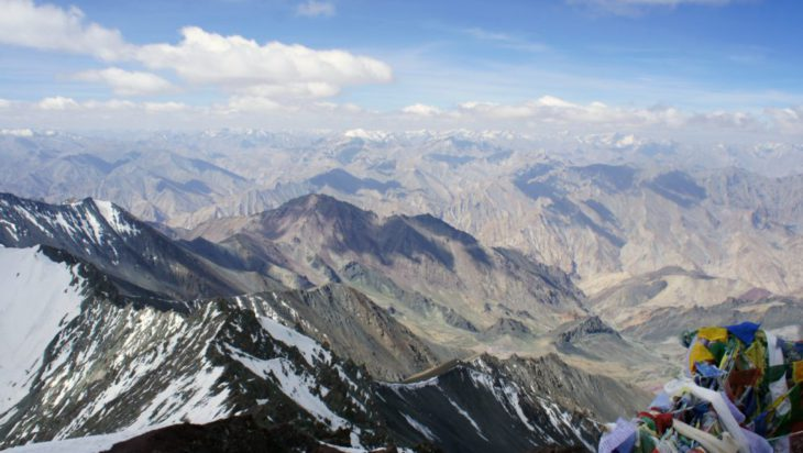 Himalaje, na szcycie Stok Kangri