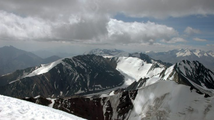 Himalaje, na szczycie Stok Kangri 2