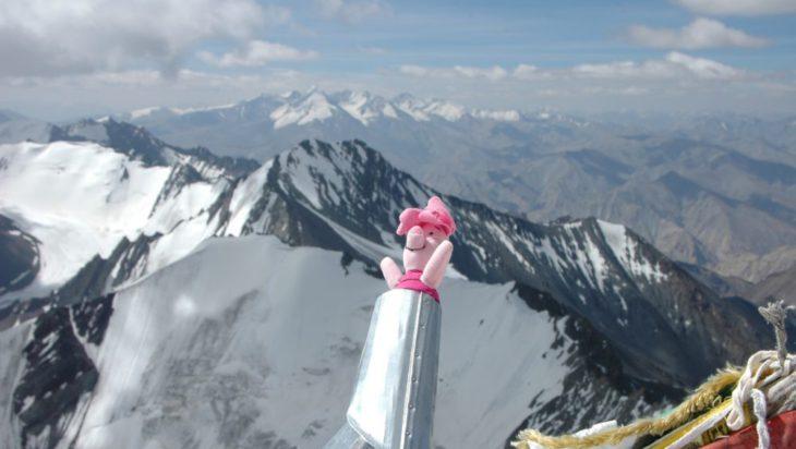 Himalaje, na szczycie Stok Kangri 3