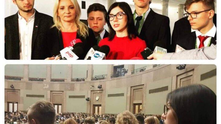Sejm Dzieci i Młodzieży- prowizorka