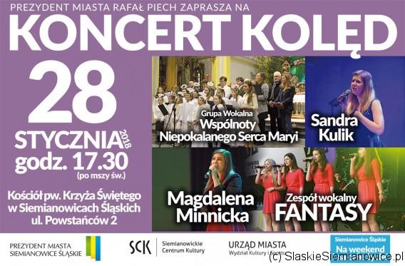 Koncert kolęd w Siemianowicach