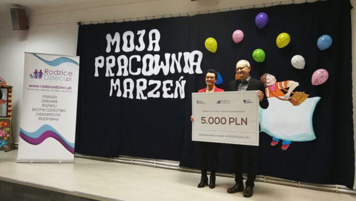 """Nagrody w konkursie """"Moja Pracownia marzeń z RodziceDzieci.pl"""" rozdane!"""