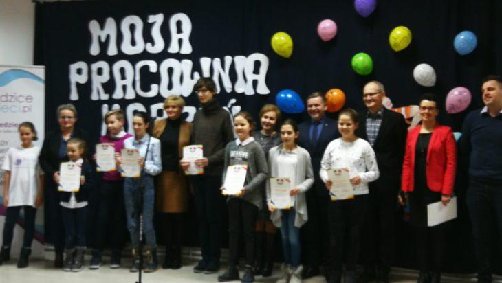 Reprezentanci nagrodzonych szkół zadowoleni z osiągniętych rezultatów