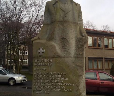 Pomnik Korfantego w Siemianowicach