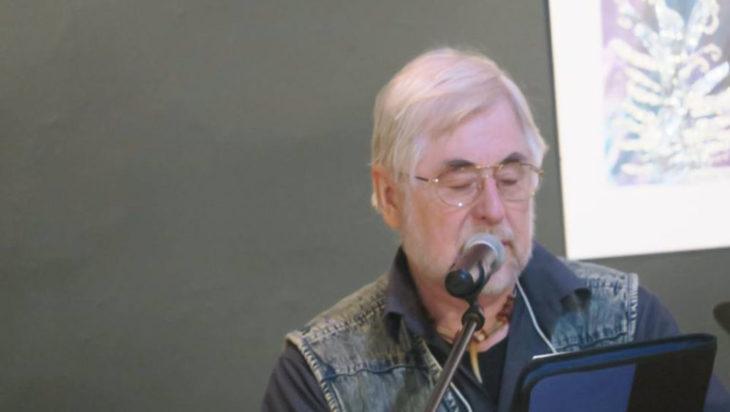 Bolko Stelmach, poeta z Katowic.