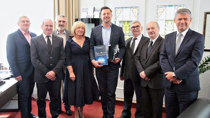 Podczas wizyty przedsiębiorców u prezydenta Rafała Piecha.