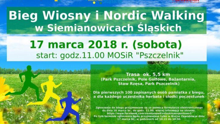 Wiosenno-zimowy bieg i nordycki spacer