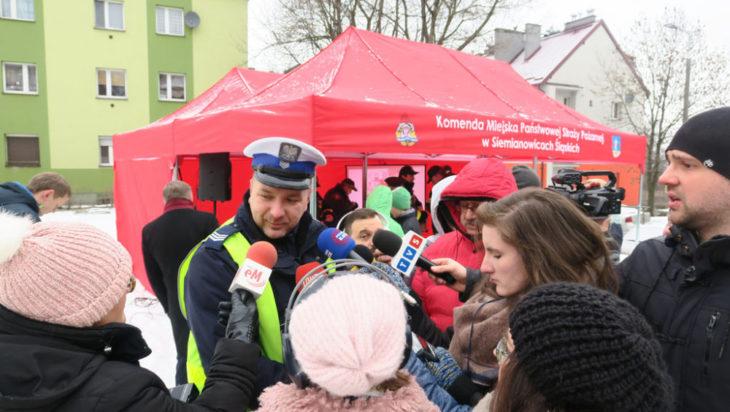 Głos zabrali również przedstawiciele Komendy Miejskiej Policji.